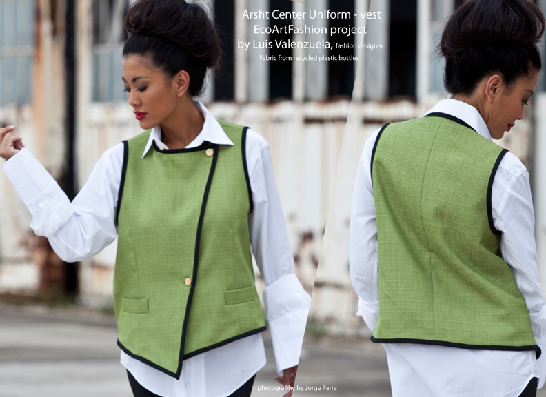 Arsht Center Uniform/Vest designed by Luis Valenzuela Miami