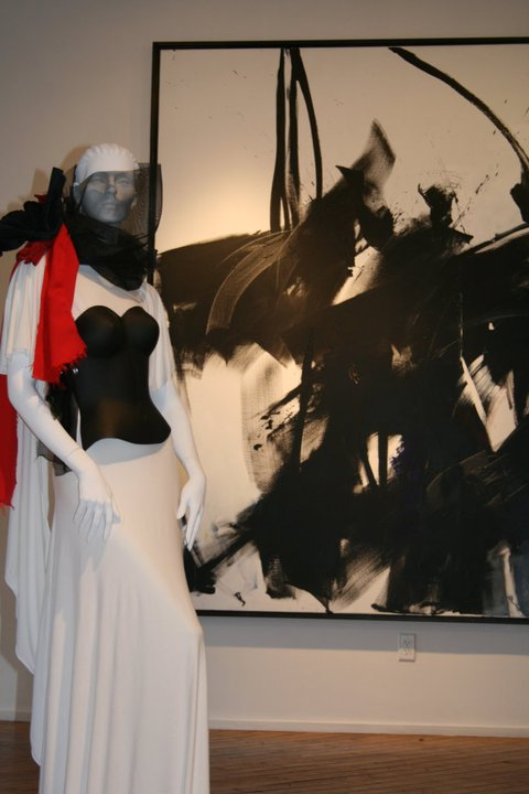 EcoArtFAshion by Luis Valenzuela at the Chealsea Art Museum NYC