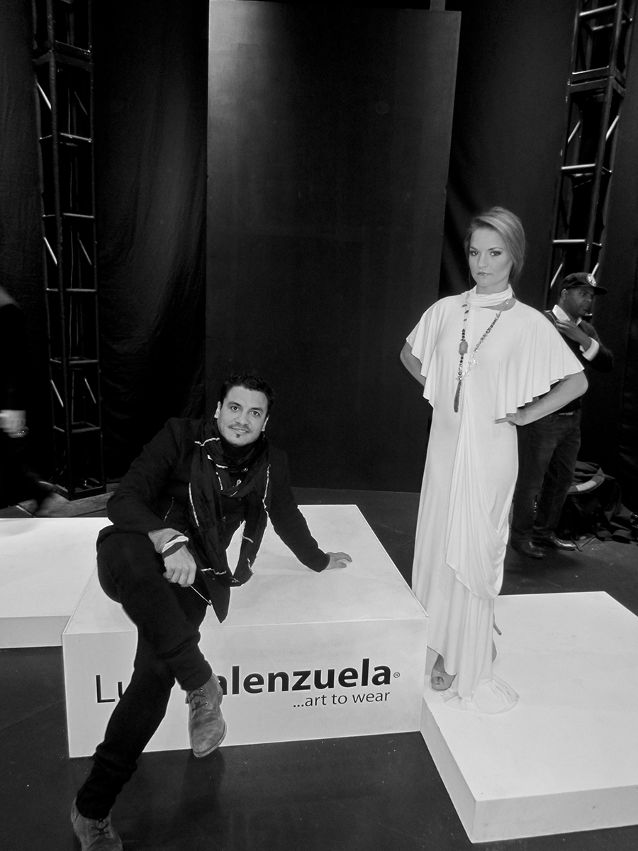 Luis Valenzuela@Mercedes Benz Fashion Week 2012