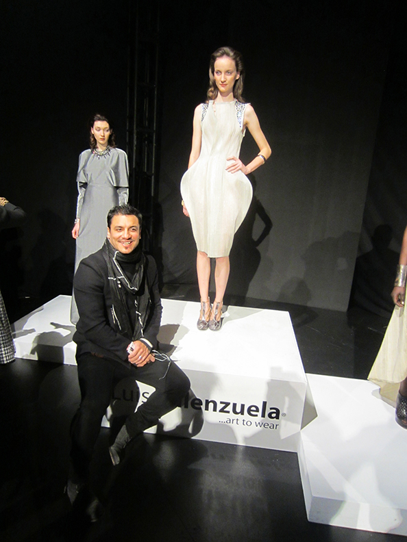 Luis Valenzuela_Mercedes Benz Fashion Week - New York Fashion Week 2012